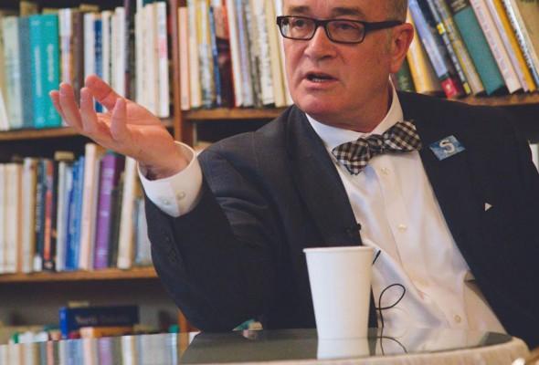 Joel Heitkamp Interviews John Strand About Plastic Bags, City Hall